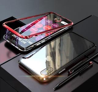 Capa Capinha Magnética iPhone 5 6 6s 7 8 Plus X Xs Xr Xs Max