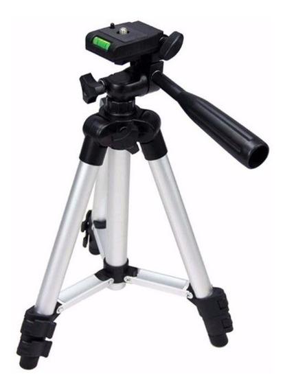 Tripé Camera Digital Profissional Com Nível 100 Cm 3110