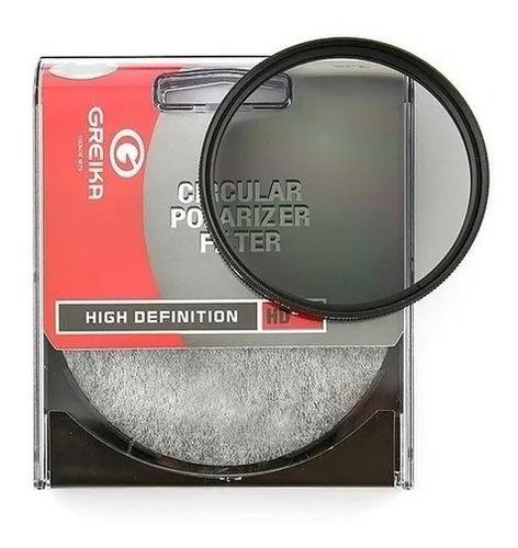Filtro Polarizador Circular Greika 49mm