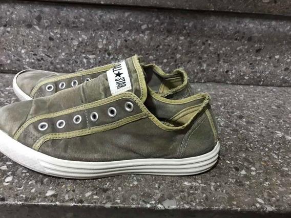 Zapatillas Converse Sin Cordones - Talle 9