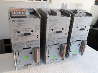 Nordac Sk 500e-750-323-a-ers - Inversor De Frequência - 1cv