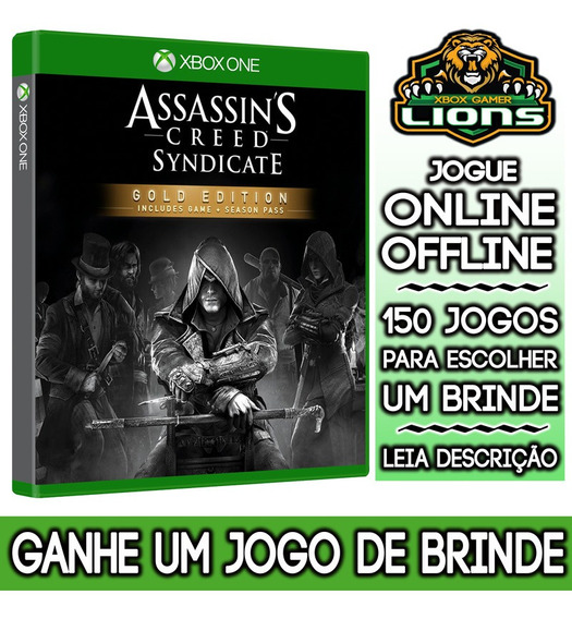 Assassins Creed Syndicate Gold Xbox One + Brinde