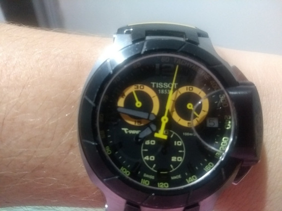 Relógio Tissot T-race Amarelo T 048.417 A Bh