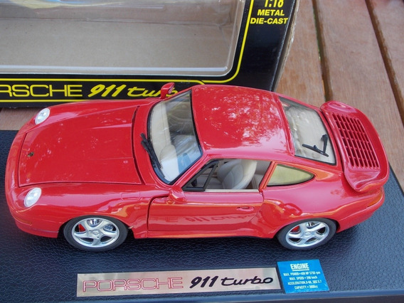 Auto A Escala 1.18. Porsche 911 Turbo