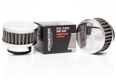 Filtro De Ar Esportivo Preto Cbx 200/titan 2000 42mm