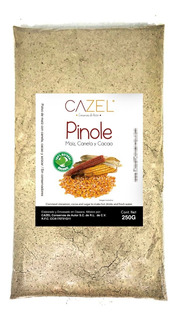 Pinole Tradicional Oaxaca Con Canela Y Cacao 250g Natural