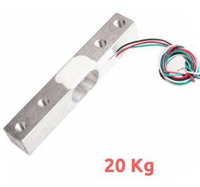 Célula De Carga Sensor De Peso 20kg
