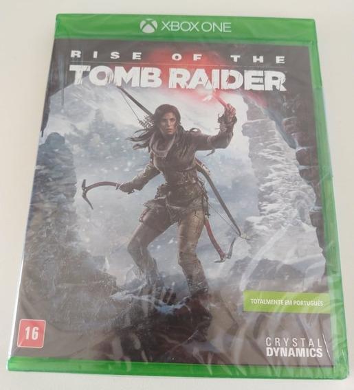 Rise Of The Tomb Raider Xbox One Midia Física Lacrado