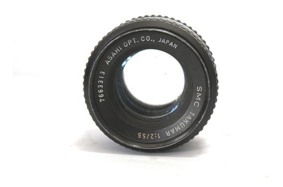 Lente Asahi Takumar 55mm Retro Coleção P/ Retirada De Peças