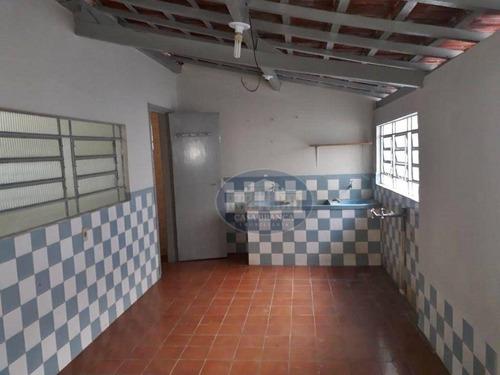 Imagem 1 de 12 de Casa Com 3 Dormitórios Para Alugar, 110 M² Por R$ 1.400,00/mês - Paraíso - Araçatuba/sp - Ca1825