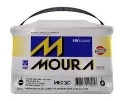 Bateria Automotiva Moura 12v 60ah M60gd/m60ge