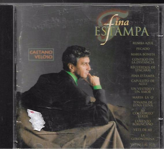 Cd Original - Fina Estampa Caetano Veloso