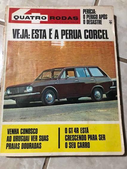 Quatro Rodas N 103 Fevereiro 1969 Belina Gt4r Frete Grátis!