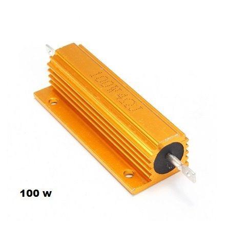 Resistor 8r 100w Aluminio Resistor De Carga 2 Unidades