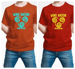 Playera Avatar Wind Nation Niño C/e 1 Pieza