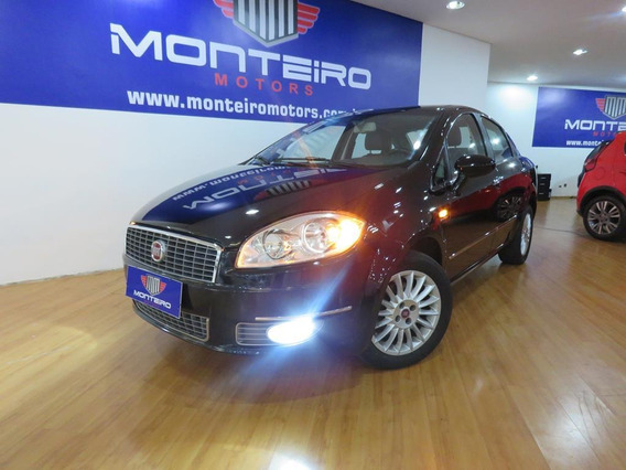 Fiat Linea 1.9 Absolute Flex Aut Top De Linha C/ Ar Digital