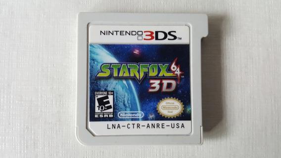 Starfox 64 3d - Nintendo 3ds - Original - Sem Capa