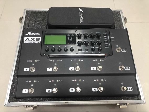 Fractal Ax8 Com Pedal E Case - Aceito Head