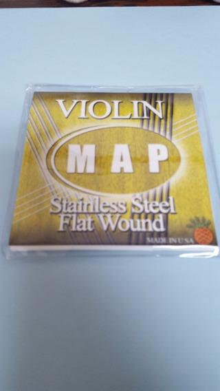 Cuerdas Violin Map Set Totalmente Nuevas 15§