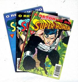 O Retorno Do Superman Série Completa 3 Volumes