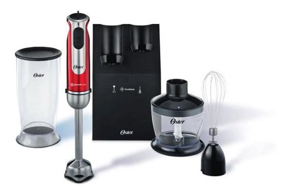 Mixer Oster High Power 127v Vermelho 550w Com Controle De V