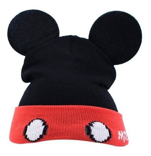 Gorro Mickey Com Orelhas Disney