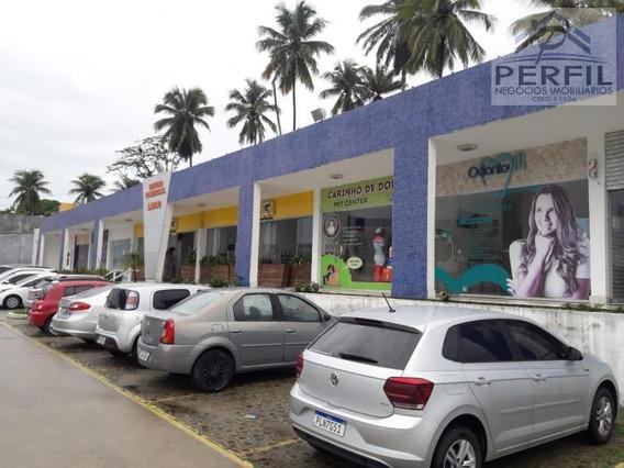 Loja Para Locação Em Lauro De Freitas, Recreio Ipitanga, 1 Dormitório, 2 Banheiros - 764