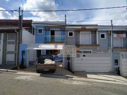Sobrado Com 2 Dormitórios À Venda, 95 M² Por R$ 395.000,00 - Jaraguá - São Paulo/sp - So0827
