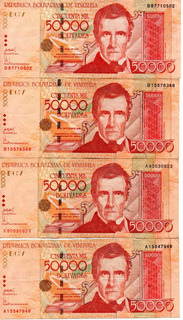Billetes 50000 Bolivares Año 2005 Leer Descripcion