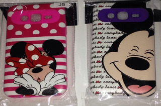 Capa Para Samsung Galaxy J5, Mini E Mickey, Anti Impacto.