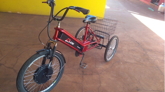 Triciclo Eletrico Duos Com Freio A Disco