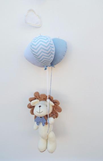 Mobile Bebe - Quarto De Bebe - Safari - Balões