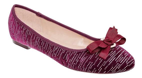 Zapato De Piso Dama Gosh 1255k-03 Vino 22-26 U80154 T3