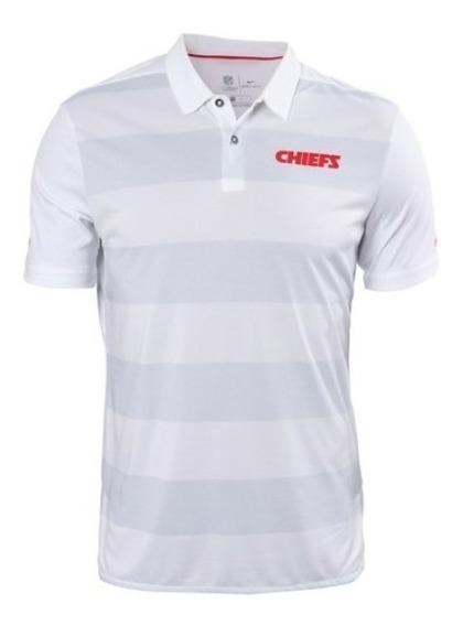 Playera Polo Original Nike Nfl Kansas City Chiefs Jefes