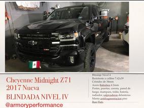 Blindada Nivel Iv Cheyenne Midnight Edition