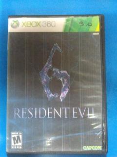 Resident Evil 6 Xbox 360 Lt 3.0 Físico + Resident Evil 5
