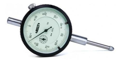 Comparador Insize 2308-10fa Dial 58mm R.0-10mm S/oreja Lec.0