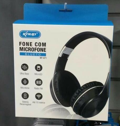 Headphone Bluetooth C/ Microfone Sem Fio