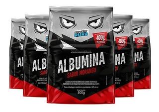 5x Albumina 500g Proteína Pura - Vários Sabores