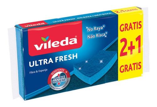 Imagen 1 de 1 de Vileda, Ultra Fresh No Raya, Fibra Anti Bacterial, No Raya