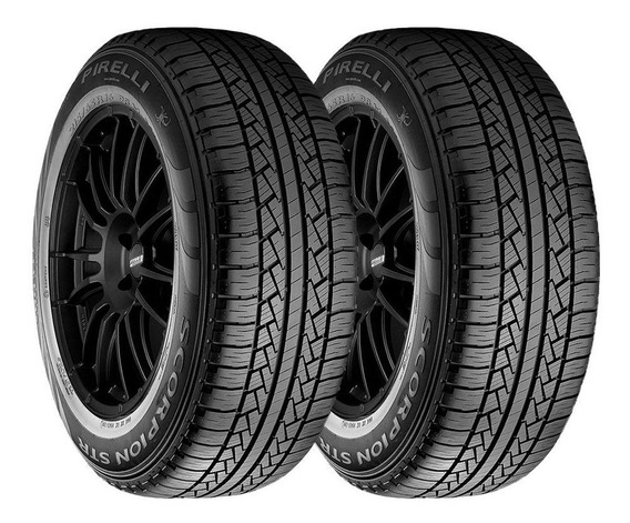 Paquete 2 Llantas 245/50 R20 Pirelli Scorpion Str 102h