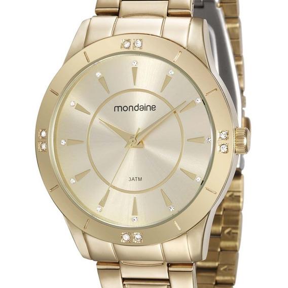 Relógio Mondaine Feminino 99112lpmvde1 Original + N. Fiscal