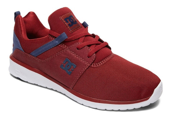 Tenis Hombre Casual Heathrow M Shoe Adys700071 Rojo Dc Shoes