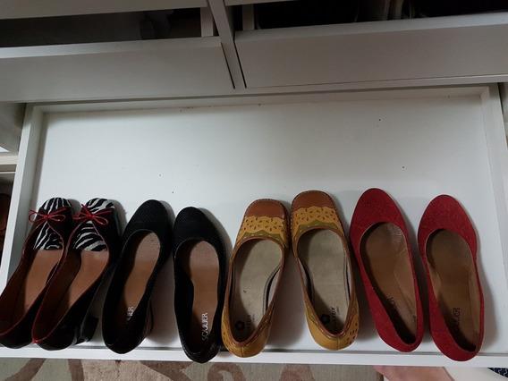 Lote De Sapatos Feminino Numero 38 4 Peças Soulier
