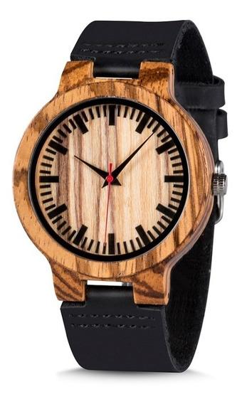 Relógio Unissex Bobo Bird De Madeira-pronta Entrega-original