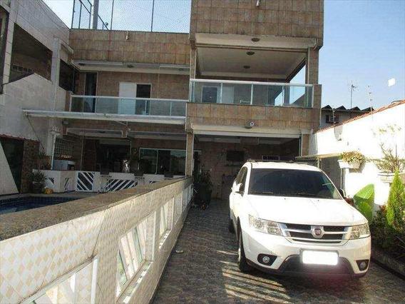 Casa Em Mirim, Praia Grande/sp De 500m² 5 Quartos À Venda Por R$ 650.000,00 - Ca169040