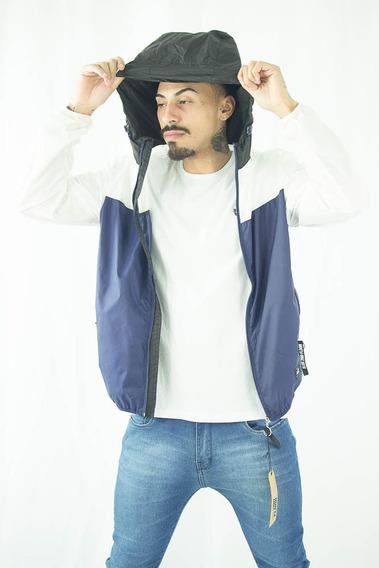 Jaqueta De Nylon Ellus Color Hooded Corta Vento