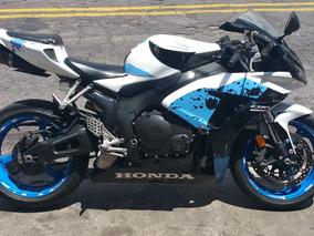 Vendo Moto Deportiva Hona Cbrr 1000 C.c. O Cambio Con Carro