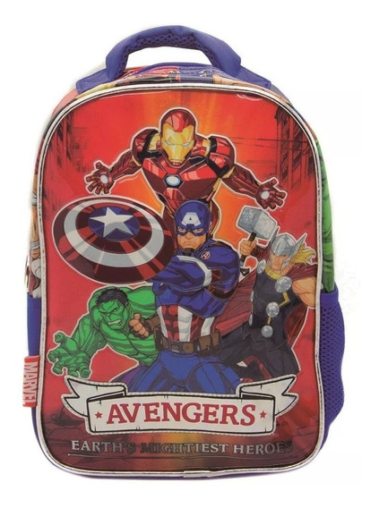 Mochila Espalda Jardin Avengers Vengadores Sp154 Orig.12