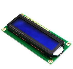 Display Lcd Azul 16x2 1602 Microcontrolador Pic Arduino Esp